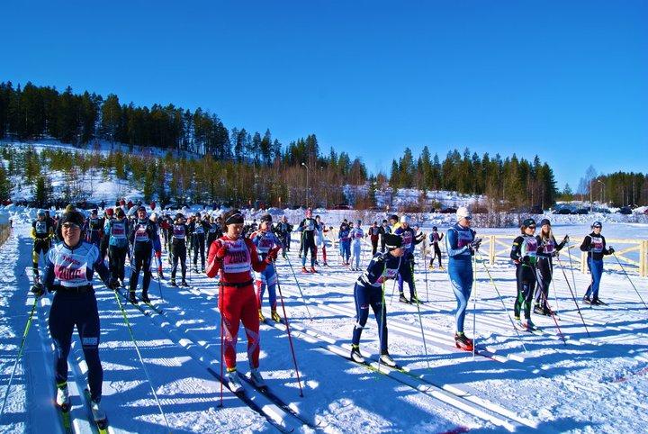 Startfaltet Tjejmila 2012
