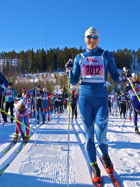 Tjejmila 2011 Linn Somskar