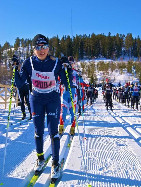 Tjejmila 2011 Mia Eriksson