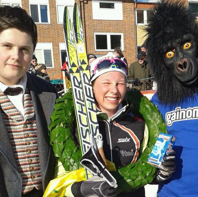 Vinnare Mia Eriksson Tjejmila 2012